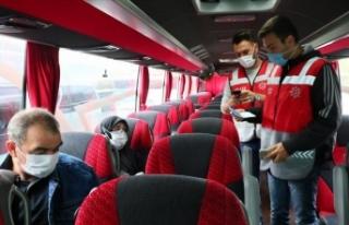 İstanbul'daki toplu ulaşım araçları denetlendi