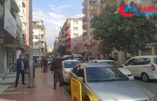 İzmir'deki depremin ardından Manisa'da...