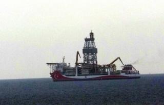 'Kanuni' sondaj gemisi Çanakkale açıklarına...