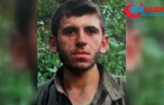 Kırmızı bültenle aranan PKK'lı terörist...