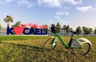 Kocaeli'de bisiklet yeni normalin gözde ulaşım...