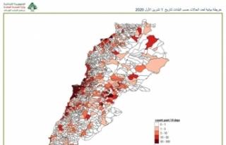 Lübnan'da 111 kasaba ve köy karantina altına...
