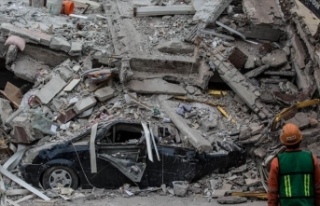 Meksika'da 2017'deki depremde çöken okulun...