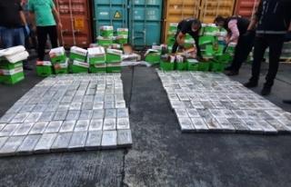 Mersin Limanı'nda 220 kilo kokain ele geçirildi