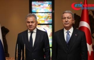 Milli Savunma Bakanı Akar, Rusya Savunma Bakanı...