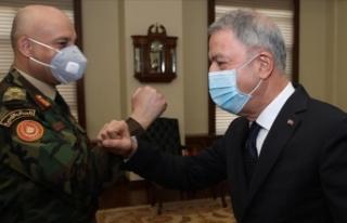 Milli Savunma Bakanı Akar, Libya Genelkurmay Başkanı...