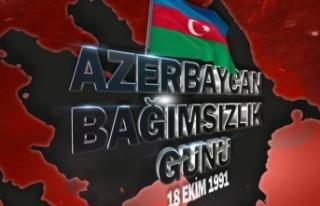 MSB'den Azerbaycan'ın Bağımsızlık Günü...