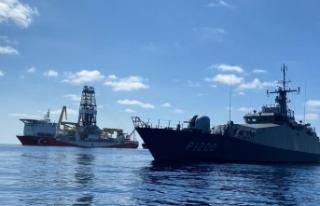 MSB'den Fatih Sondaj Gemisi paylaşımı
