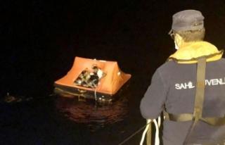 Muğla'da Türk kara sularına itilen 13 sığınmacı...