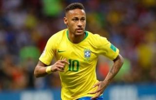 Neymar Brezilya Milli Takımı'nın 2. en skorer...