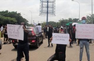 Nijerya'da protestolar devam ederken Rivers eyaletinde...