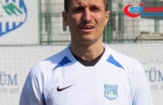 Oğlunu boğduğu iddiasıyla tutuklanan futbolcu...