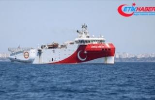 Oruç Reis gemisi Doğu Akdeniz'de 22 Ekim'e...
