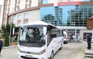 Rize'de karantina kuralını ihlal eden 118 kişi...