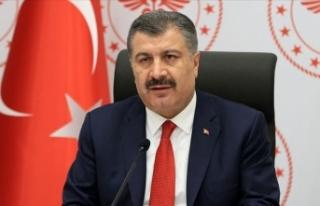 Türkiye'de son 24 saatte 2 bin 302 kişiye Kovid-19...