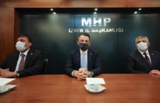 Tarım ve Orman Bakanı Bekir Pakdemirli MHP İzmir...