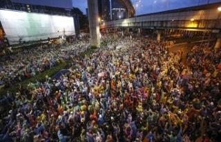 Tayland'daki monarşi ve hükümet karşıtı protestolar...