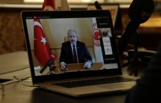 TBMM Başkanı Şentop, Çerkezköy Endüstriyel Fuarı'na...
