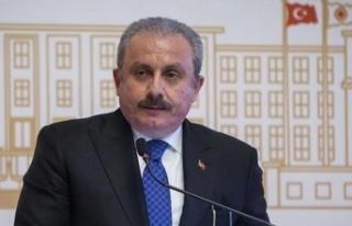 TBMM Başkanı Şentop, Ersin Tatar'ı tebrik etti