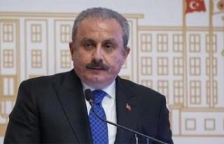 TBMM Başkanı Şentop, 'Türkiye teröre ve...