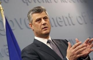 """Thaçi: """"Kosova, bu zor dönemde Türkiye halkının..."""