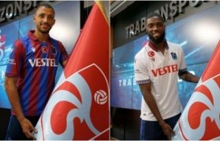 Trabzonspor'da Vitor Hugo ve Djaniny için imza...