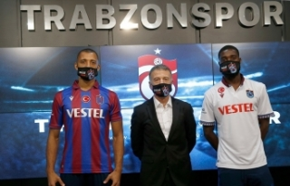 Trabzonspor'un yeni transferleri Vitor Hugo ve Djaniny...