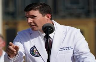 Trump'ın doktoru Sean Conley: 'Başkan...