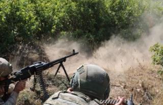 Tunceli Ovacık kırsalında 2 terörist etkisiz hale...