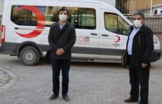 Türk Kızılay Ağrı'da immün plazma bağışında...