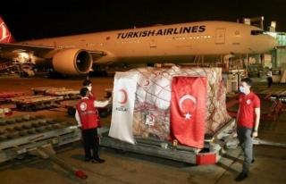 Türk Kızılay Kovid-19 ile mücadelede Pakistan'a...