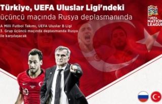 Türkiye UEFA Uluslar Ligi'ndeki üçüncü maçında...