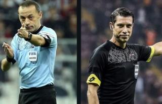UEFA'dan Cüneyt Çakır ve Ali Palabıyık'a...