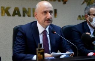 Ulaştırma ve Altyapı Bakanı Karaismailoğlu: Ulaşım...