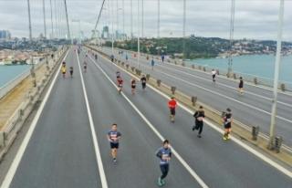 42. İstanbul Maratonunda kazananlar Kenya'lı...