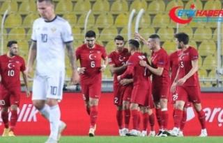 A Milli Futbol Takımı, Rusya'yı 3 golle devirdi