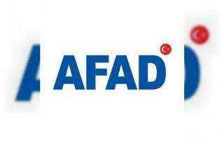 """AFAD: """"Arama ve kurtarma çalışmaları tamamlanarak..."""