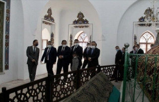 AK Parti'li Özhaseki, restorasyonu tamamlanan...
