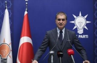 AK Parti Sözcüsü Çelik: Görevden alma, istifayı...