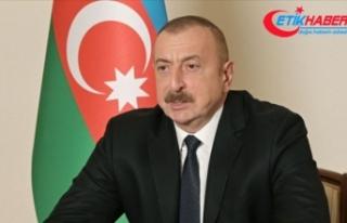 Azerbaycan Cumhurbaşkanı Aliyev: Şimdi Ağdam için...