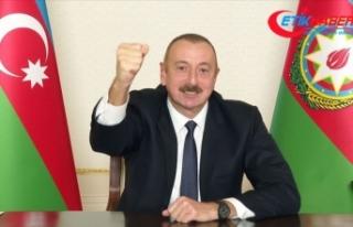 Azerbaycan'ın Dağlık Karabağ'daki zaferi...