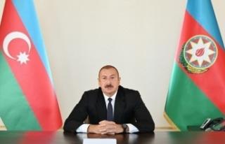 Azerbaycan Cumhurbaşkanı Aliyev, Ağdam kentini...