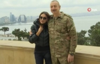 Azerbaycan Cumhurbaşkanı İlham Aliyev'den zafer...