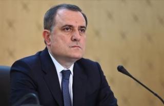 Azerbaycan Dışişleri Bakanı Ceyhun Bayramov'un...