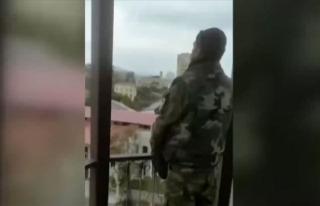 Azerbaycan'ın işgalden kurtardığı Şuşa'da...