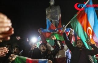 Azerbaycanlılar Dağlık Karabağ'da varılan...
