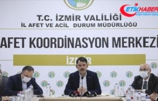 Bakan Kurum: İzmir'de konutları 1 yıl içinde...