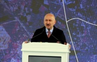 """Bakan Karaismailoğlu: """"İlk yerli üretim uydumuz..."""
