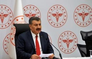Koca: Bursa, Kocaeli ve Gaziantep'te belirgin...