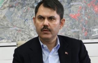 Bakan Kurum'dan İzmir açıklaması: '513...